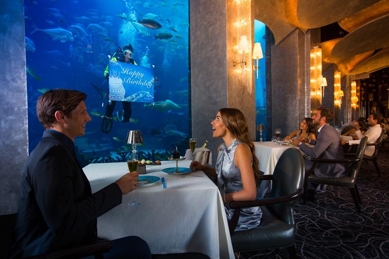 Рестораны отеля атлантис дубай цены квартир в тбилиси